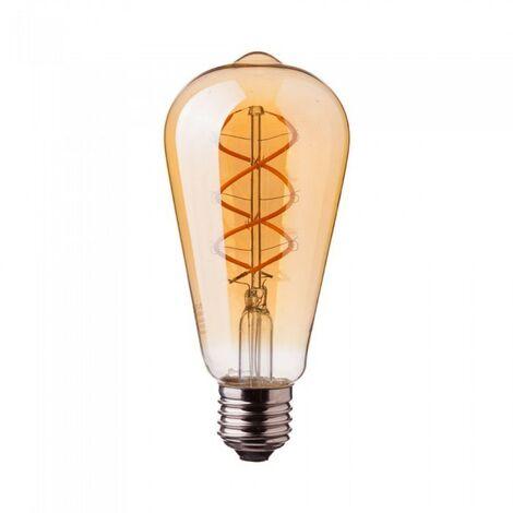 Bombilla LED 5W E27 Edison Vintage LED Amber