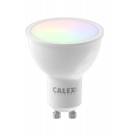 Bombilla led 5W inteligente wifi GU10 CALEX Smart Home 429002 RGB-CCT