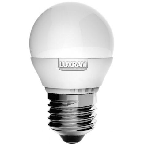 Bombilla led 6,5w 4000k Hivision Esférica E27 806lm Luxram