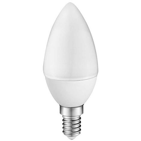 Bombilla LED A2BC Vela E14 6W (luz cálida)