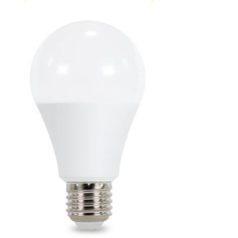 Bombilla LED A60 E27 8W con Sensor Crepuscular y Movimiento (PIR)