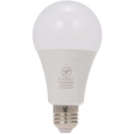 Bombilla LED amarilla para insectos, Bombilla repelente de mosquitos, E26 / 27, 12W