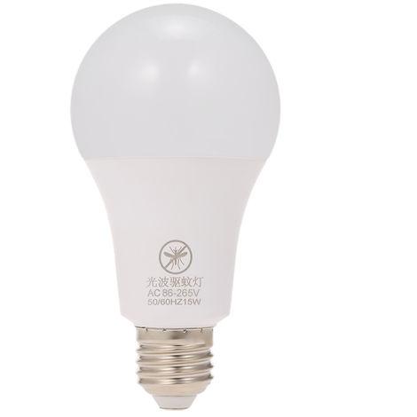 Bombilla LED amarilla para insectos, Bombilla repelente de mosquitos, E26 / 27, 15W