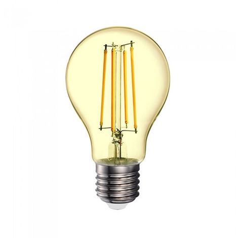 Bombilla LED Amber Filament A70 E27 2200K 12.5W 330° regulable