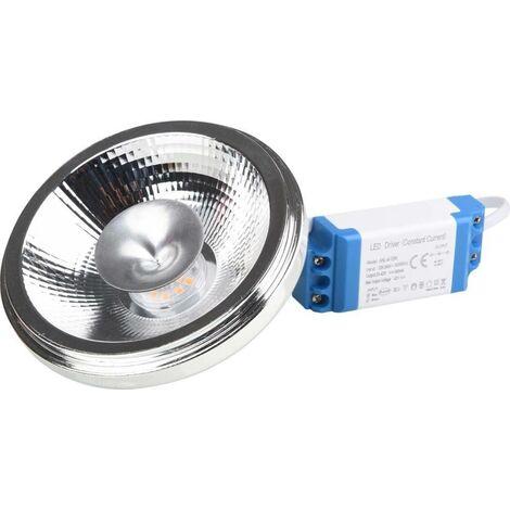 Bombilla LED AR111 12W con Driver externo