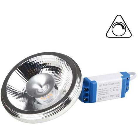 Bombilla LED AR111 15W 1585lm regulable - driver externo