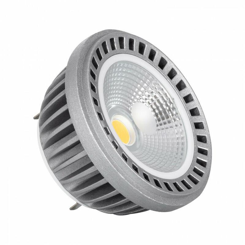 Bombilla LED G53 18W AR111 COB Blanco Cálido 3000K - Blanco Cálido 3000K