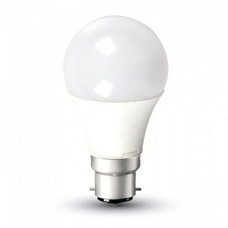 Bombilla LED B22 9W 6000K Eq 60W