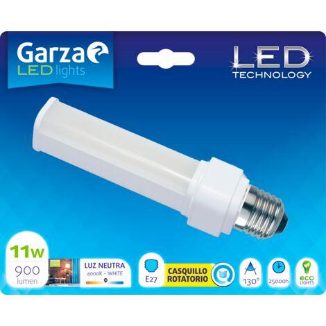 Bombilla LED BIAX 11W, casquillo E27, 900 lumenes, Luz neutra