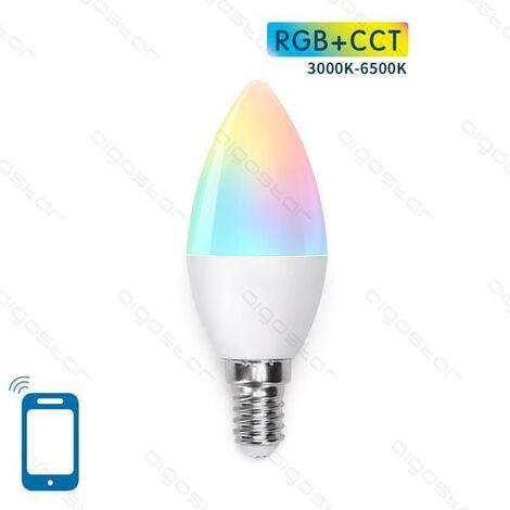 Bombilla LED C37 E14 7W WIFI RGB+CCT