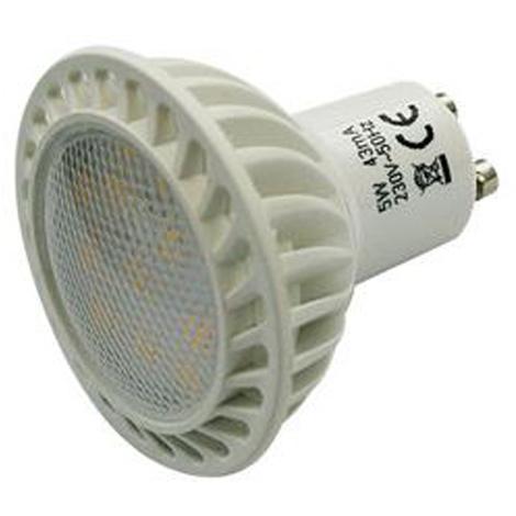 Bombilla LED casquillo GU10 5W, 400 lumens, 6500K de color, clase A+, dura más de 25.000 horas, Electro DH 81.219/DIA