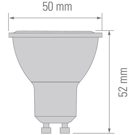 Bombilla LED COB GU10 dimmable (6.5W)
