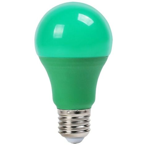 Bombilla led Color Experience A60 E27 9W 200° Azul