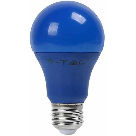 Bombilla led Color Experience A60 E27 9W 200° Azul