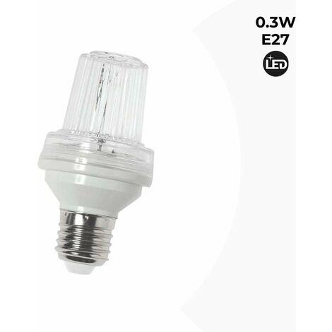 Bombilla LED con Efecto Estroboscópico E27 0.3W IP44