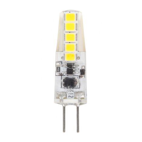Bombilla LED con luz blanca fría 2w G4 fabriled