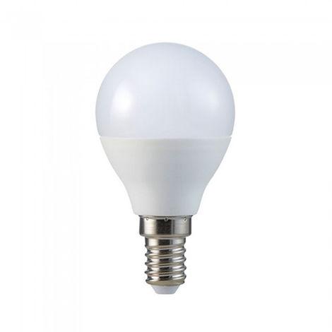 Bombilla LED con RF control P45 E14 3.5W 180° regulable Temperatura de color - 4000K Blanco natural + RGB