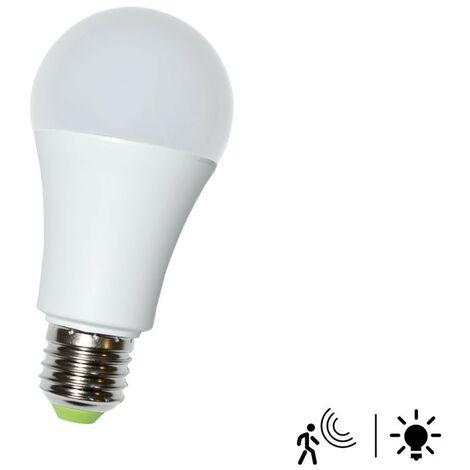 Bombilla LED con sensor de movimiento 7W A60