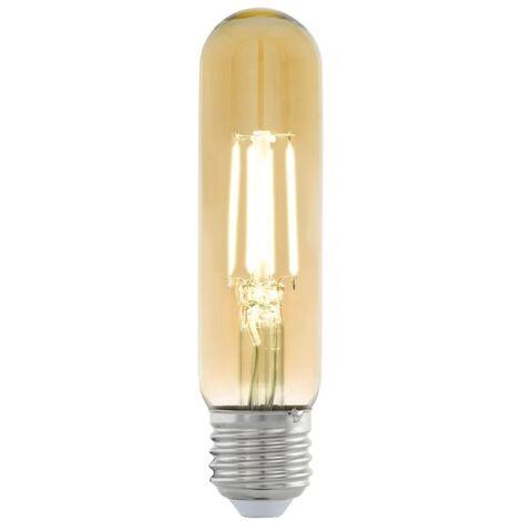 Bombilla LED de estilo vintage EGLO E27 T32 11554, Color ámbar