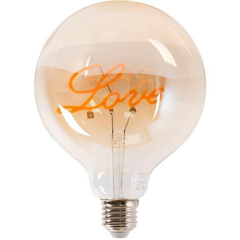 """main image of """"Bombilla LED de filamento """"LOVE"""" G125 2,5W E27"""""""