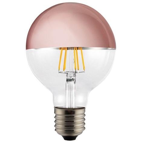 Bombilla LED Decorativa Globo Espejo Cobre (6W)
