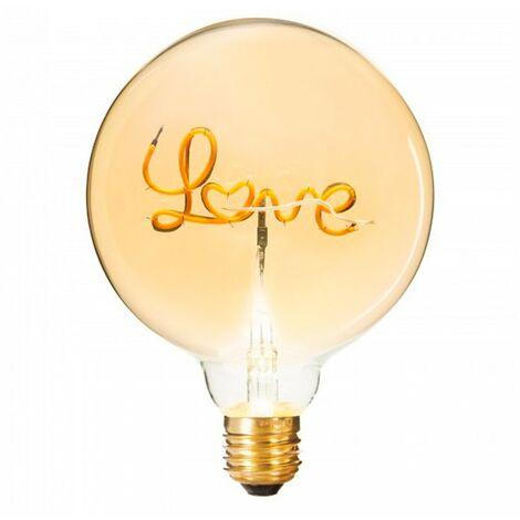Bombilla LED decorativa love E27 2W