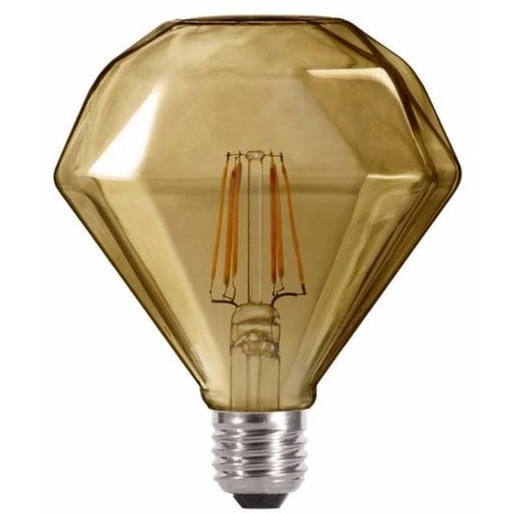 Bombilla LED Diamante Fumé (6W-neutra)