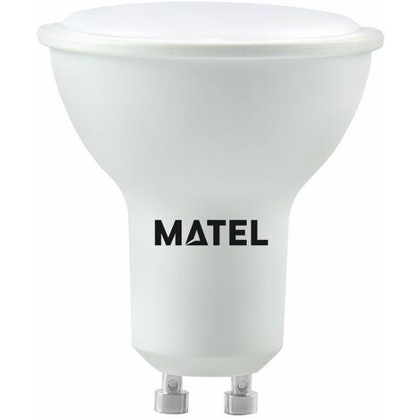 Bombilla LED dicroica 120 casquillo GU10 8w 800lm neutra