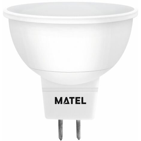 Bombilla LED dicroica 120 mr16 12 voltios 3w neutra 280lm