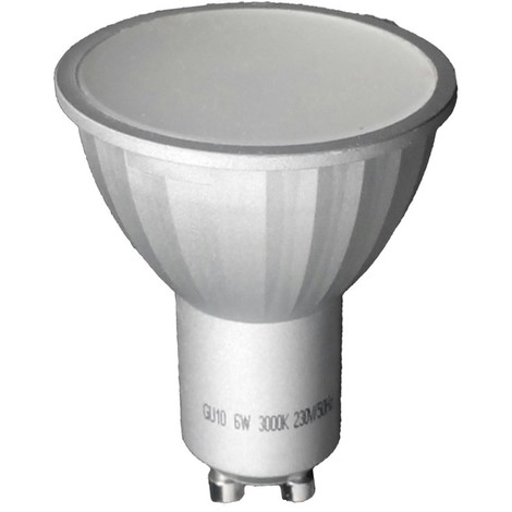 Bombilla LED Dicroica GU10 Luz cálida (6W)