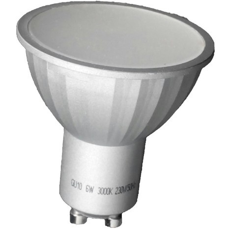 Bombilla LED Dicroica GU10 Luz fría (6W)