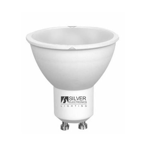 Bombilla LED Dicroica Silver Electronics ECO GU10 Luz cálida