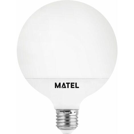 Bombilla Led Dimable Globo G120 Blanca 15W E27 1500Lm Matel