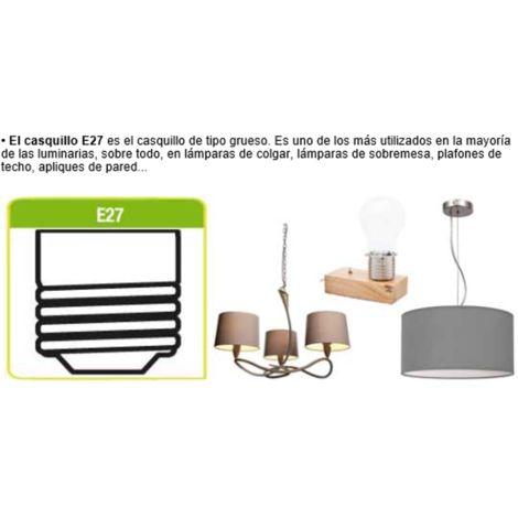 Bombilla LED Disco light con luces de colores RGB 3W casquillo E27