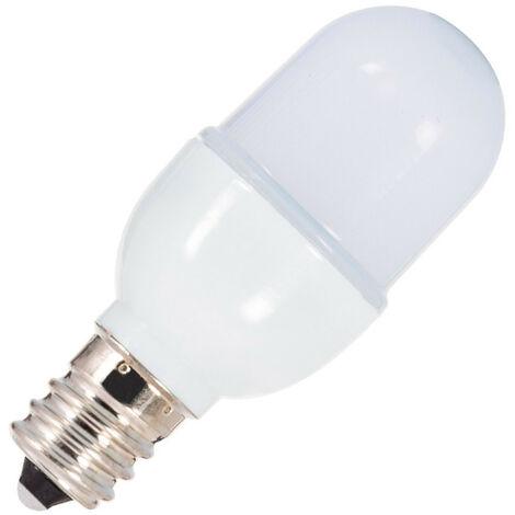 Bombilla LED E12 T25 2W Blanco Frío 6000K - Blanco Frío 6000K