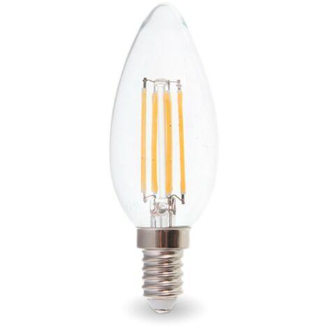 Bombilla LED E14 4W 2700K Filamento
