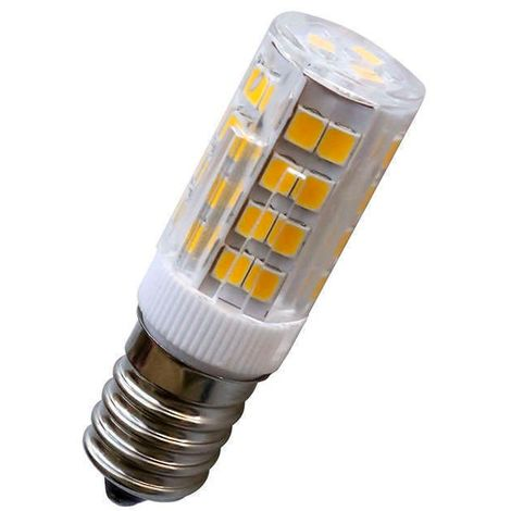 Bombilla LED E14, 51xSMD2835, 3.2W, Blanco frío