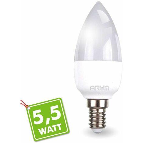 Bombilla LED E14 5.5W Representación 40W 470LM