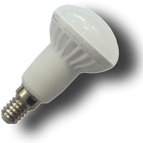 Bombilla LED E14 6W 230V 3000K REFLECTORA R50
