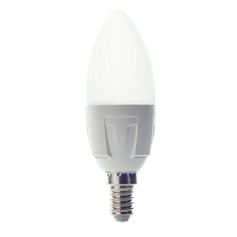 Bombilla LED E14 6W 830 de vela blanco cálido
