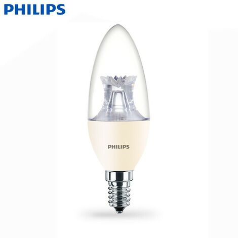 Bombilla LED E14 6W | DimTone Regulable | MASTER LEDcandle Philips