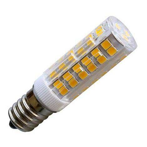 Bombilla LED E14, 75xSMD2835, 4W, Blanco cálido