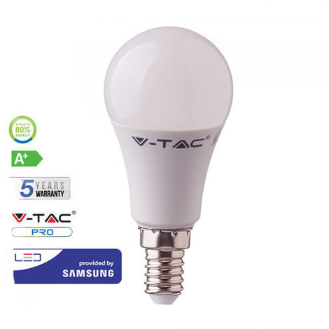 Bombilla LED E14 A58 Samsung 9W V-TAC PRO 200°