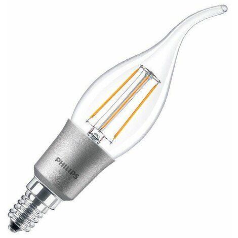 Bombilla LED E14 Casquillo Fino BA35 Regulable Filamento Murano Candle CLA 5W Blanco Cálido 2700K