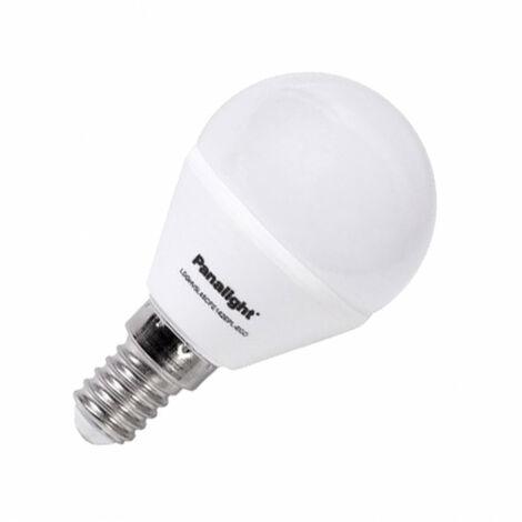 Bombilla LED E14 Casquillo Fino G45 PANASONIC Frost 4W Blanco Cálido 2700K