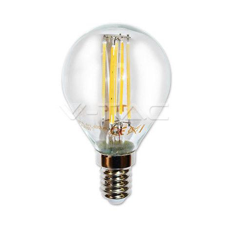 Bombilla led E14 filamento globo P45 4W