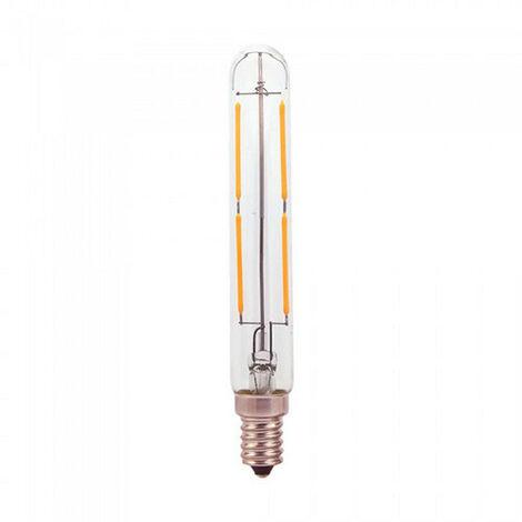 Bombilla LED E14 filamento tubular T20 4W 360°