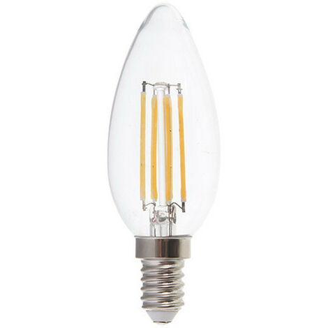 Bombilla led E14 filamento vela 4W 300°