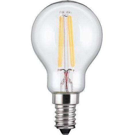 Bombilla LED E14 filamentos luz calida 4W