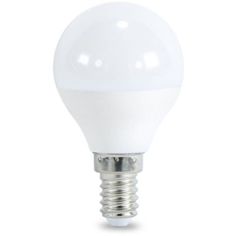 Bombilla LED E14 G45 7W Blanco Neutro 4000K | IluminaShop
